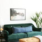 Cozy Green Livingroom Ideas 13