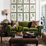 Cozy Green Livingroom Ideas 14