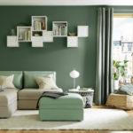 Cozy Green Livingroom Ideas 19