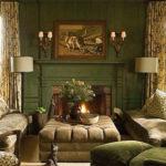 Cozy Green Livingroom Ideas 23