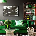 Cozy Green Livingroom Ideas 36