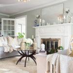 Cozy Green Livingroom Ideas 41