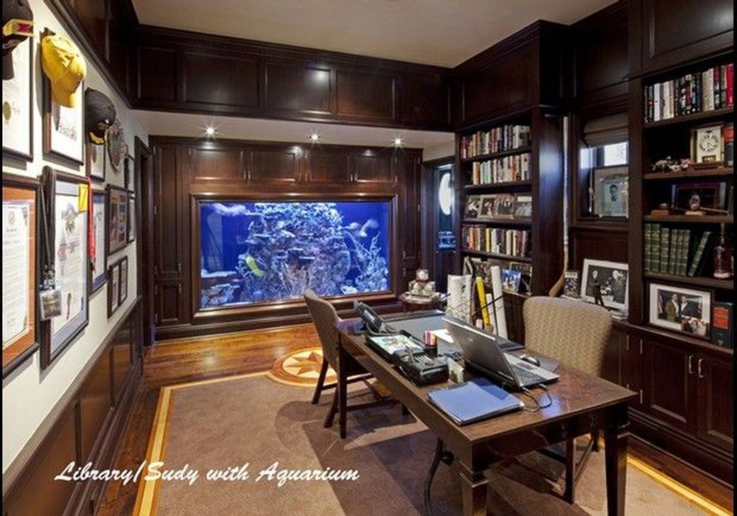Amazing Aquarium Design Ideas Indoor Decorations 05
