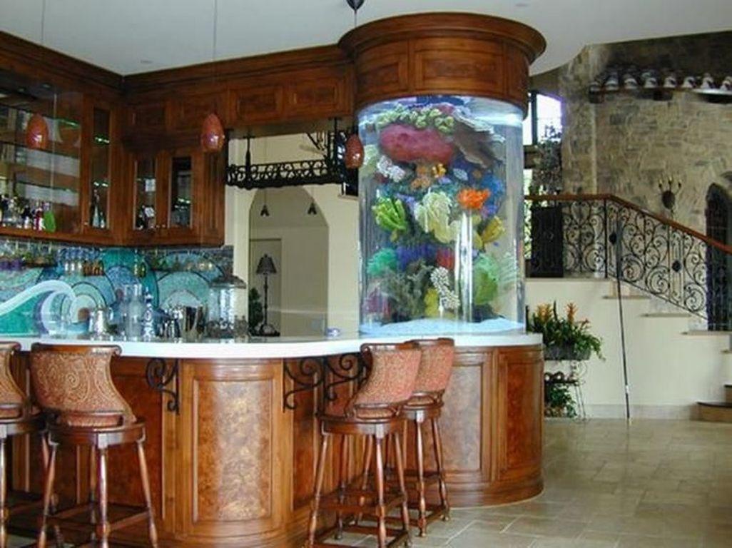 Amazing Aquarium Design Ideas Indoor Decorations 06