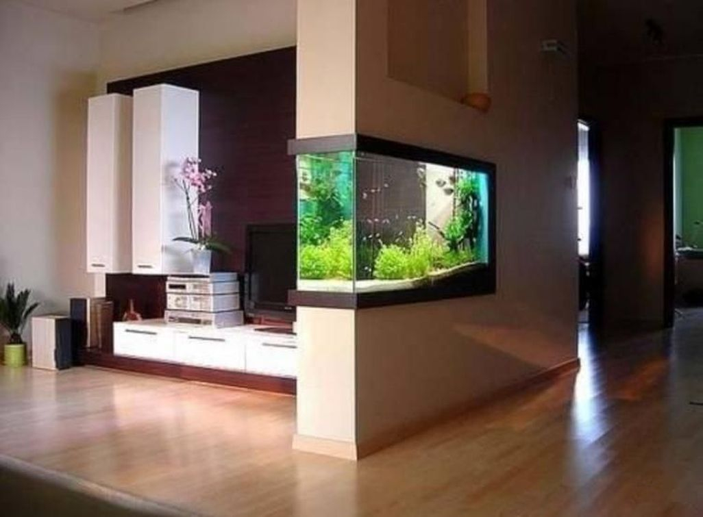 Amazing Aquarium Design Ideas Indoor Decorations 17