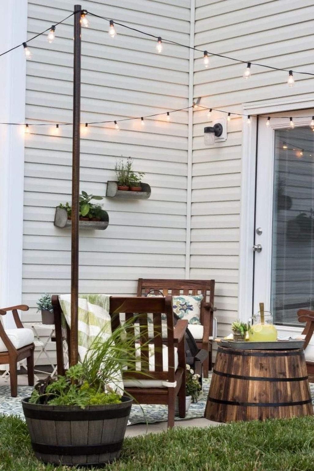 42 Creative Small Patio Design Ideas Homishome