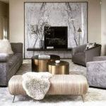 Elegant Living Room Colour Ideas 37