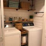Modern Basement Remodel Laundry Room Ideas 01