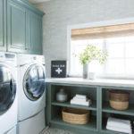 Modern Basement Remodel Laundry Room Ideas 05