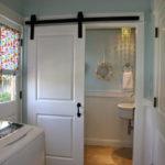 Modern Basement Remodel Laundry Room Ideas 14
