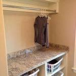 Modern Basement Remodel Laundry Room Ideas 17