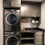 Modern Basement Remodel Laundry Room Ideas 21