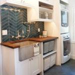 Modern Basement Remodel Laundry Room Ideas 24