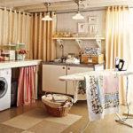 Modern Basement Remodel Laundry Room Ideas 26