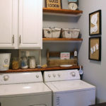 Modern Basement Remodel Laundry Room Ideas 30