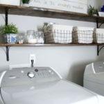 Modern Basement Remodel Laundry Room Ideas 31