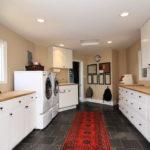 Modern Basement Remodel Laundry Room Ideas 34