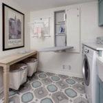 Modern Basement Remodel Laundry Room Ideas 39