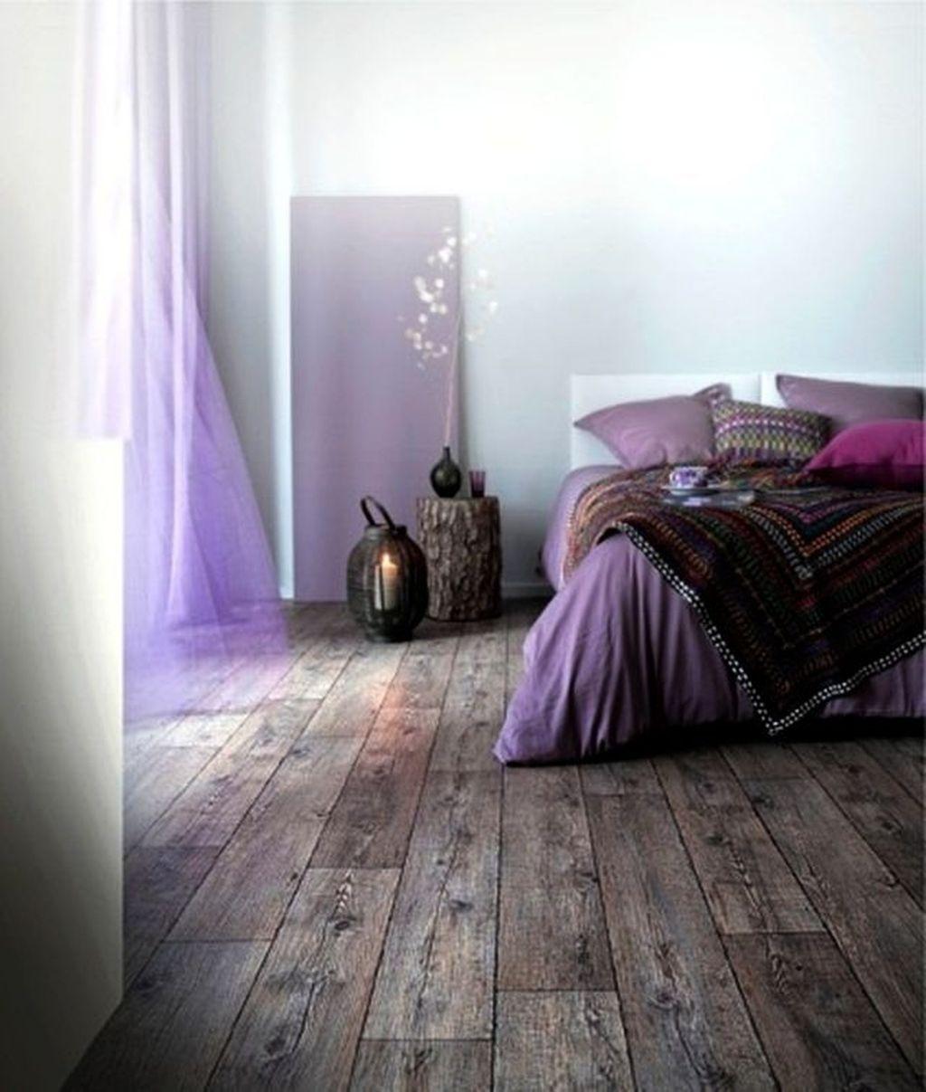 Inspiring Rustic Wooden Floor Living Room Design10