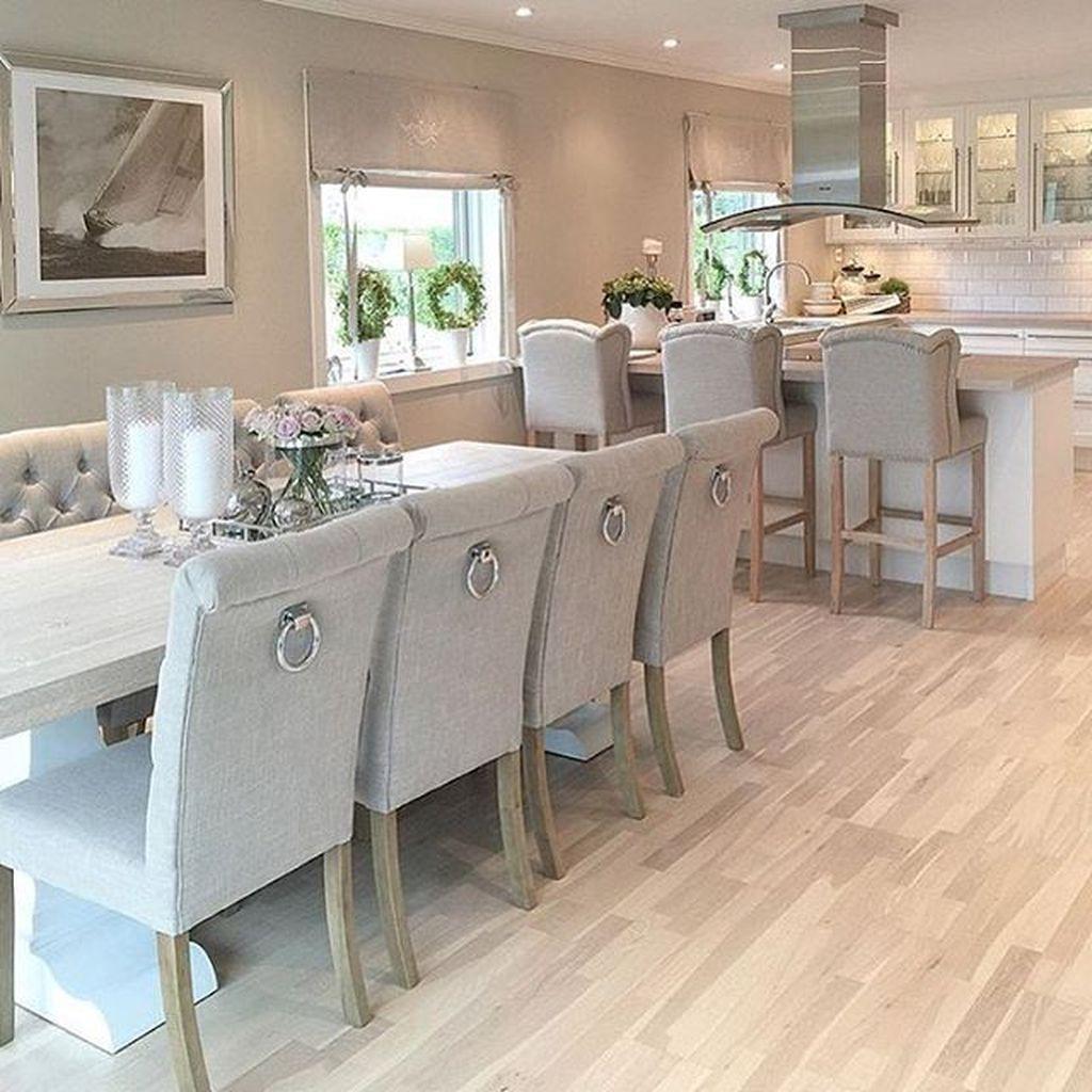 Inspiring Rustic Wooden Floor Living Room Design17