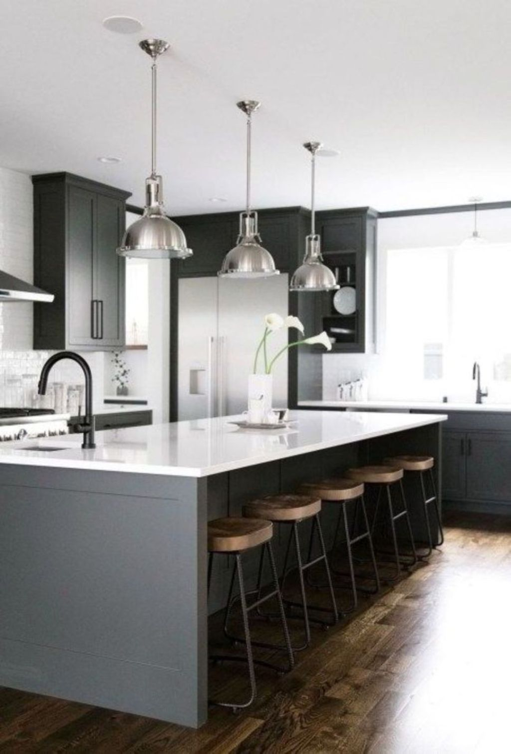 41 Modern Dark Grey Kitchen Design Ideas Homishome