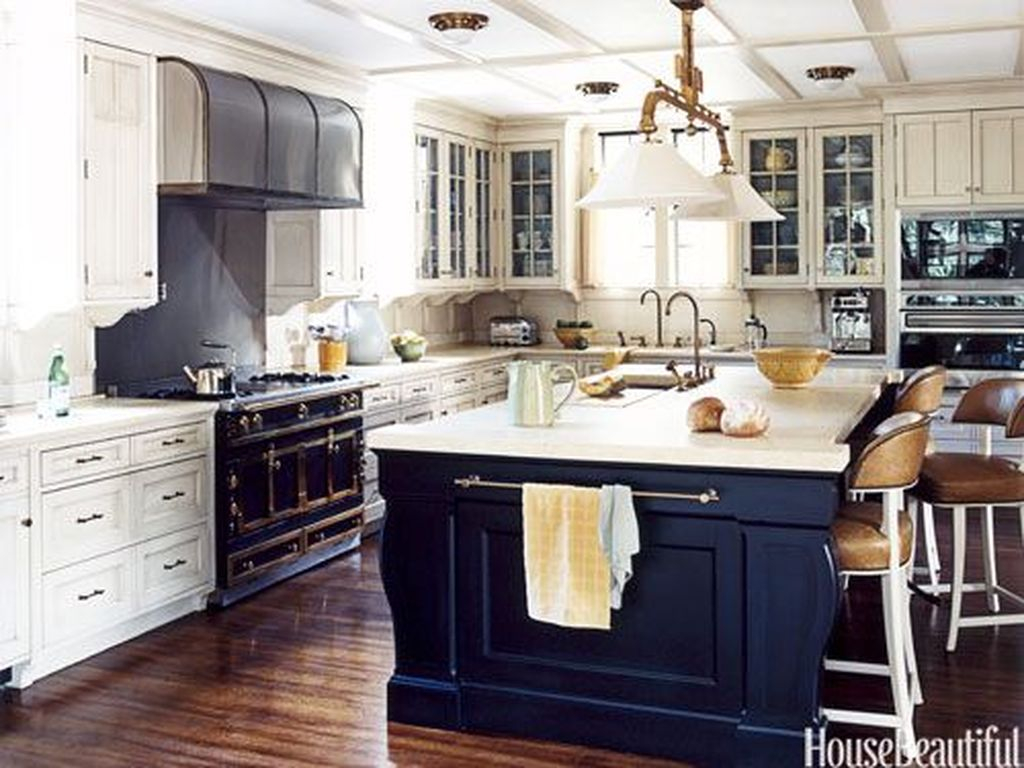 Relaxing Blue Kitchen Design Ideas For Fresh Kitchen Inspiration38