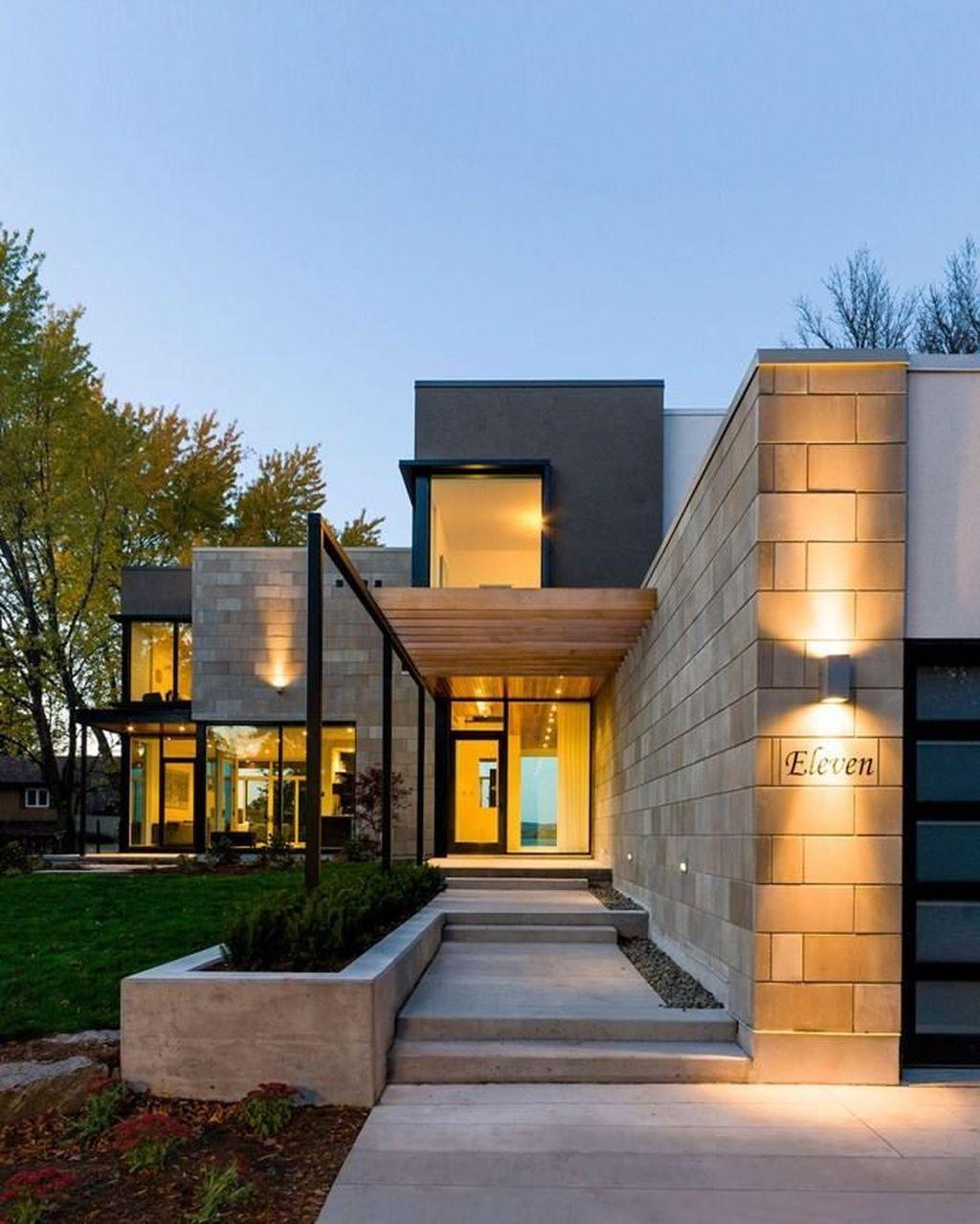 Amazing Barndominium Exterior Design En 2019: 37 Amazing Modern Home Exterior Designs