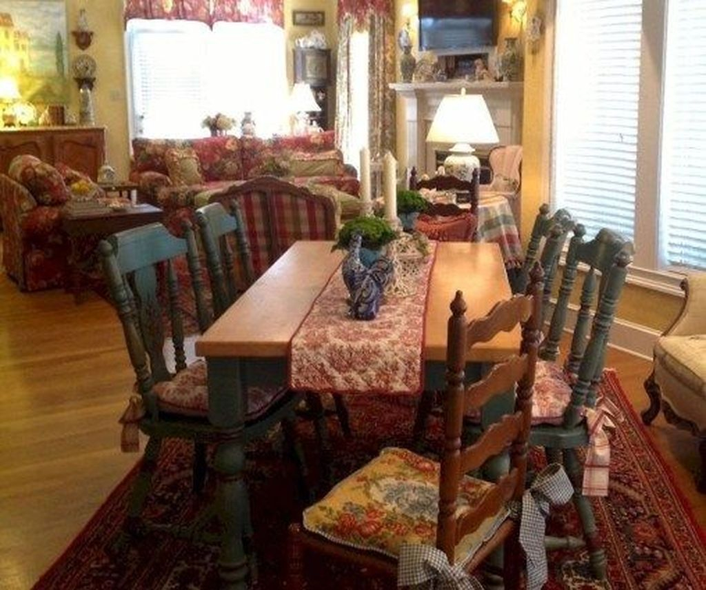 42 Awesome Country Dining Room Table Decor Ideas