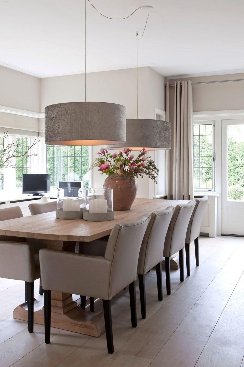 44 Best Dining Room Design Ideas - HOMISHOME