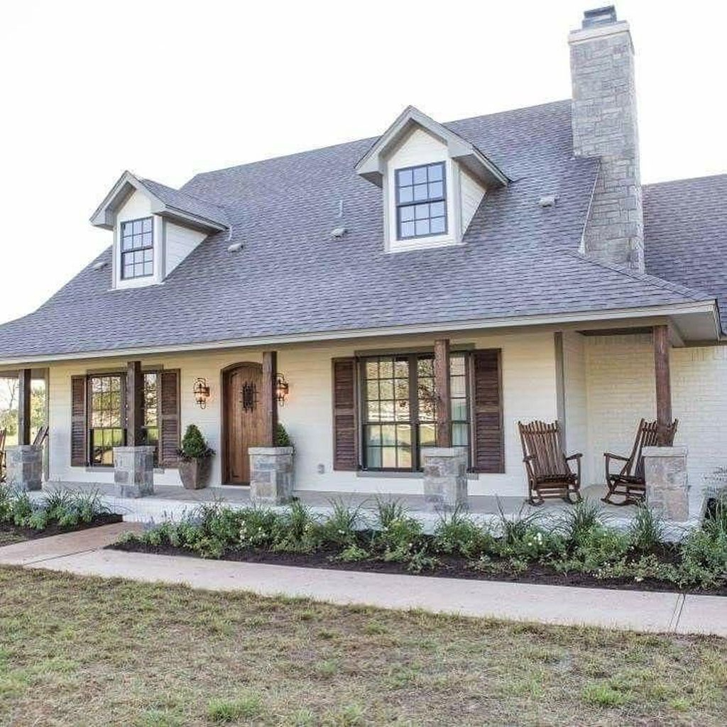 Home Exterior Farmhouse Design Ideas: 47 Marvelous Farmhouse Exterior Design Ideas