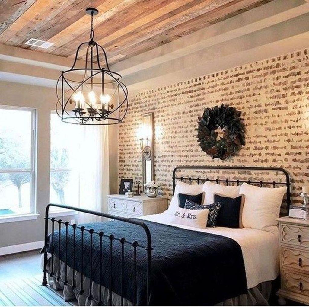 Modern Bedroom For Farmhouse Design17