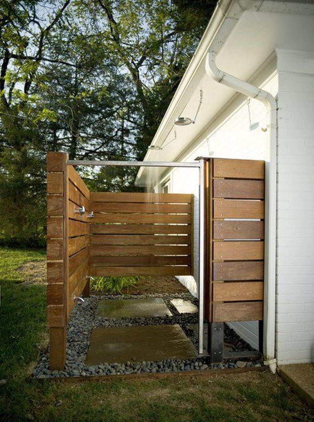 astonishing outdoor bathroom designs   46 Amazing Outdoor Bathroom Design Ideas - HOMISHOME