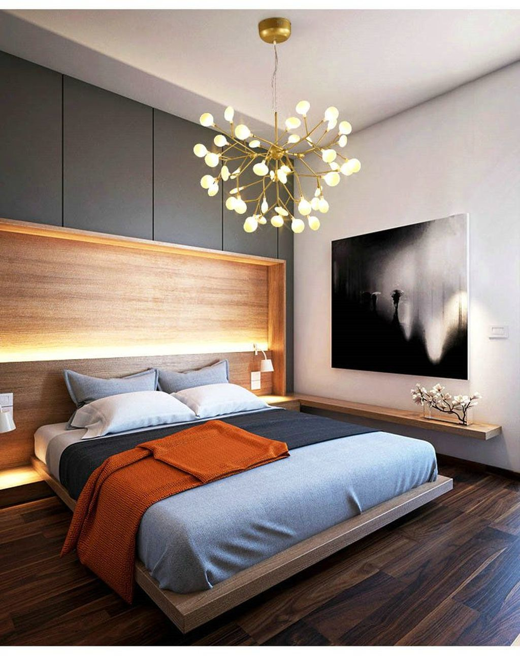 48 Gorgeous Small Master Bedroom Designs Homishome