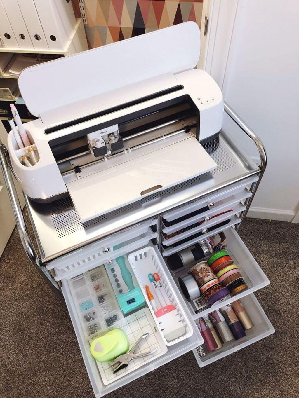 39 Stunning Diy Portable Office Organization Ideas - HOMISHOME