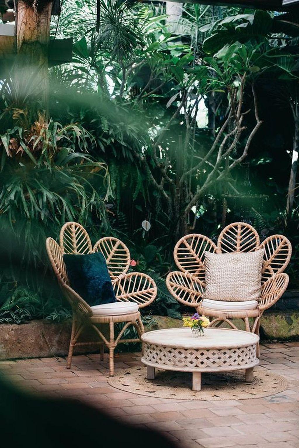 Inspiring Boho Outdoor Decorating Ideas For Backyard30